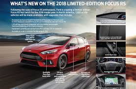 2018 ford focus rs. contemporary 2018 4  and 2018 ford focus rs