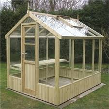 wooden greenhouse kits cedar for