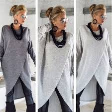 2018 <b>New</b> Women Ladies <b>Plus Size S</b>-<b>5XL</b> Long Sleeve Pullover ...