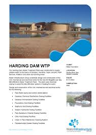 Design And Construction Of Water Treatment Plant Harding Dam Water Treatment Plant By Helen Bender Issuu