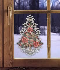 Gardinen Welt Online Shop Weihnachtsfensterbild Baum Mit