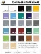 Decorative Concrete Epoxy Floor Color Card Concrete
