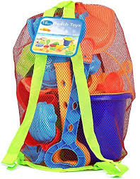 Click N Play 18Piece Beach Sand Toy Set, Bucket ... - Amazon.com