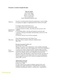 Sample Resume For Electronics Technician Electronic Technician Resume Unique Executive Assistant Resume