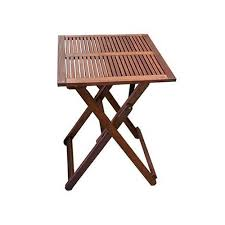 woodlands outdoor furniture concha square outdoor timber folding table reviews temple webster