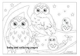 Baby Owl Coloring Pages Baby Owl Coloring Pages Baby Owl Printable