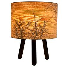 black autumn table lamp designed in australia by micky stevie