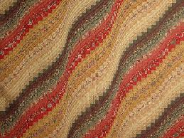 Bargello Wave Quilt -- magnificent carefully made Amish Quilts ... & ... King Paprika Moss and Gold Bargello Wave Quilt Photo 3 ... Adamdwight.com