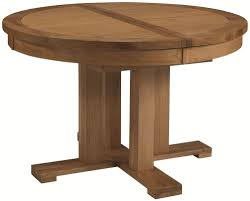 Round Oak Kitchen Tables Round Extending Pedestal Dining Table Lilac Design