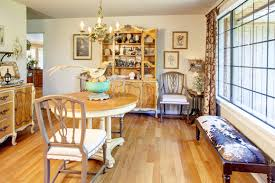 Decorations:Elegant French Eclectic Home Interior Design With Luxury Frame  Wall And Wooden Floor Idea