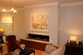 art over fireplace ortals cold wall technology allows you to hang a tv above the house remodel ideas