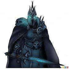 How To Draw Arthas Warcraft