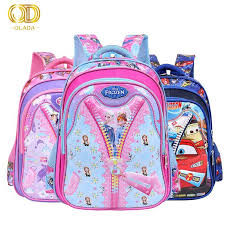 China <b>2019 Hot Sale</b> Frozen Backpack Cartoon Smiggle Pink ...