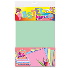 Amazon Com Artbox A4 Pastel Paper Sheet Of 50 Office Products
