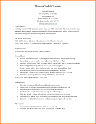 Resume Word Template Free Resume Template Curriculum Vitae Microsoft Word Professional 39