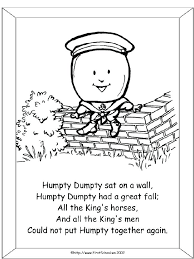 humpty dumpty coloring coloring page coloring pages humpty dumpty free colouring pages