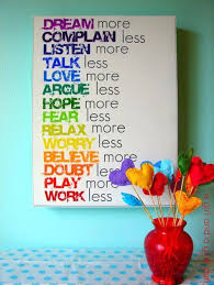 42 DIY Room Decor For Girls   Rainbow Text Wall Art   Awesome Do It  Yourself Room Decor For Girls, Room Decorating Ideas, Creative Room Decor  For Gu2026 ...