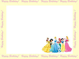 disney princess birthday invitation to and edit here are 6 beautifully designed backgrounds and borders for birthday invitations that you can use s disney princess invitation printable