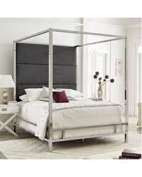 Hot Deals: 47% Off Brayden Studio Weymouth Upholstered Canopy Bed ...