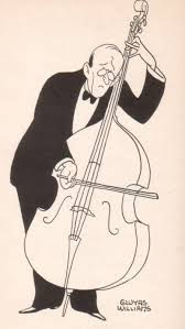 Image result for hoffnung double bass cartoon
