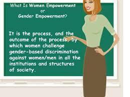 a presentation on women empowerment <br > 6 what is women empowermentorgender