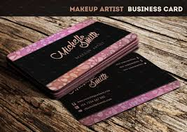 makeup business cards templates free elegant best make up artist business cards s business card ideas