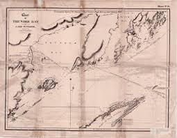 Lake Superior Depth Chart Chart Of Thunder Bay Lake Superior The Gateway To