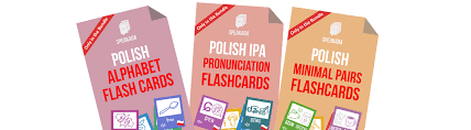 Check out our phonetic alphabet selection for the very best in unique or custom, handmade pieces from our wall hangings shops. Anki Polish Pronunciation Flashcards Bundle Speakada