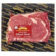 angus beef rib eye steak