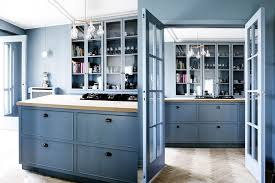 23 Gorgeous Blue Kitchen Cabinet Ideas: Beautiful Blue Kitchen ...