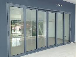 heavy duty aluminium sliding door