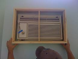 How To Hide An Ugly Wall Unit Air Conditioner Home Pinterest - Small ugly apartments