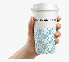 By continuing to browse you are agreeing to our use of cookies and other tracking technologies. Island Poke Graphic Design Packaging Coffee Cup Paper Coffee Cup Graphic Design Hd Png Download Kindpng