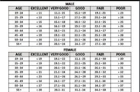 Body Fat Chart By Age Peanuts Gallery Bend