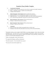 expository essay exles for all