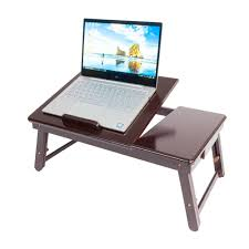 New Portable Double Flower Pattern Folding Laptop Table Lap Desk Bed Tray  Stand
