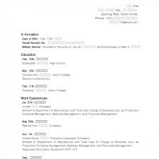 Resume Template Teenager No Job Experience Resume Template Example Of Without Work Experience Sample No College 23