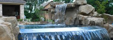 inground pools with waterfalls and hot tubs. Custom Swimming Pool And Spa Water Features Inground Pools With Waterfalls Hot Tubs L