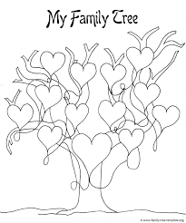 Family Tree Craft Template Choice Image Template Design Ideas