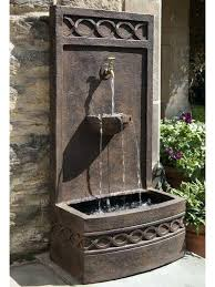 wall water features outdoor fountain diy outdoor wall water features wall water features