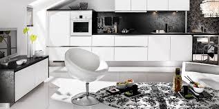 Black And White Modern Kitchen Kitchen Room Design Ideas Black Modern Kitchen Cabinets White