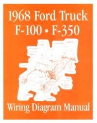 ford 1968 f100 f350 truck wiring diagram manual 68 ebay 1968 f100 turn signal wiring diagram image is loading ford 1968 f100 f350 truck wiring diagram manual