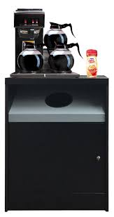 office coffee cabinets. OCS 200-TR-SF Is A Full Size Coffee Stand With Trash Hole And Room In The Cabinet For Your Waste Basket. Keep Those Pesky Used Condiment Packets Stir Office Cabinets 0