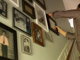 picture frames on staircase wall. Arrange The Pictures Picture Frames On Staircase Wall B