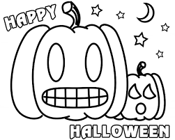 Small Picture Happy Halloween Pumpkin Coloring Pages Archives Gallery Coloring