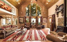 22 luxurious log cabin interiors you