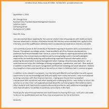 Letter Format For Internship Application 12 13 Summer Internships Cover Letter Sample