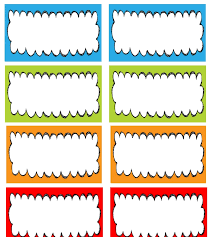 preschool name tag templates