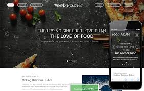 Food Recipe Template Food Recipe A Hotel Category Bootstrap Responsive Web Template