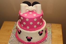 Pink And Black Minnie Mouse Decorations Minnie Mouse Cake Google Search Posh Minnie Mouse Birthday